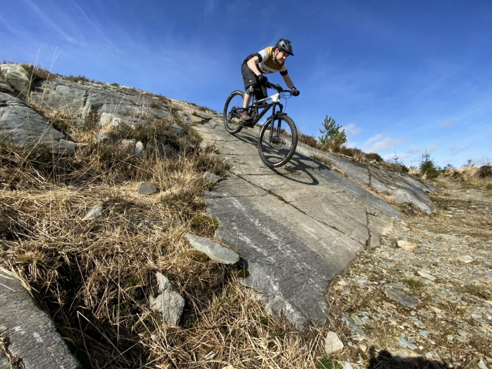 Will and Kate ride the Tarw Du black trail – Coed Y Brenin
