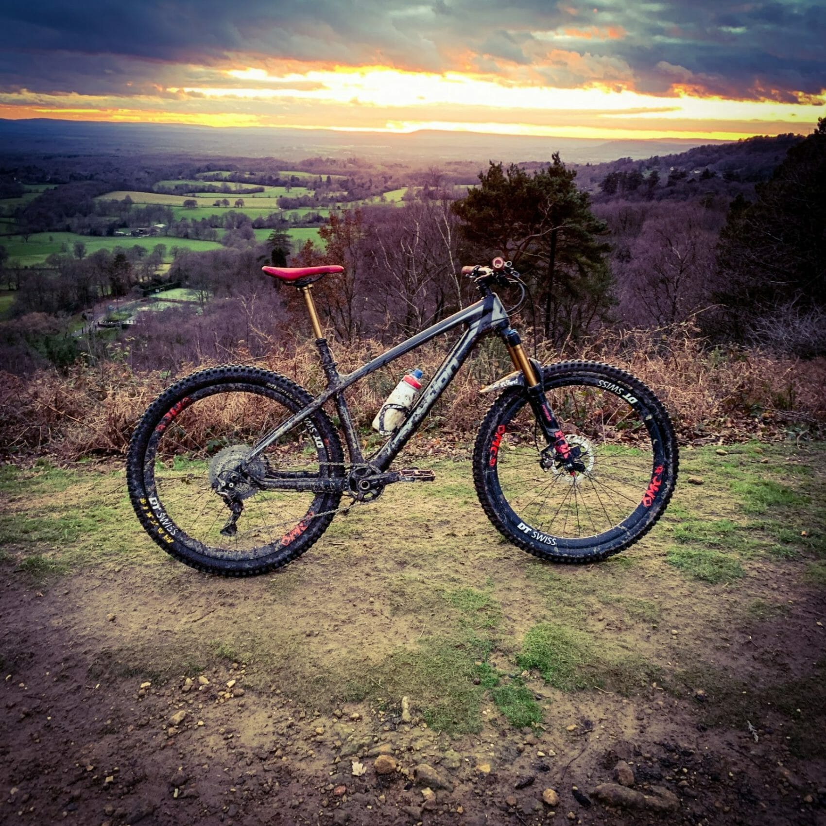 Bike Check – Will's Transition Throttle Carbon Hardtail