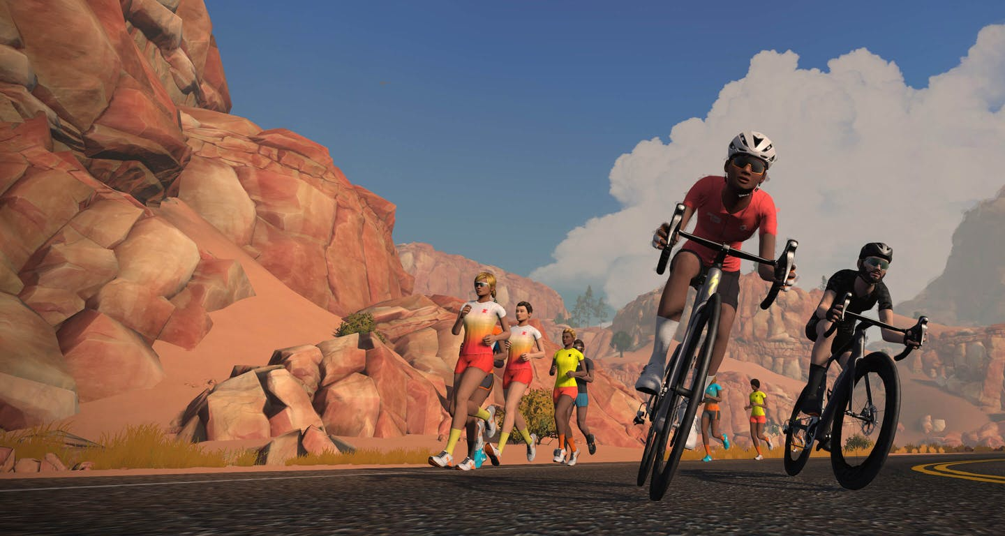 Using Zwift for cycling during the Covid-19 lockdown