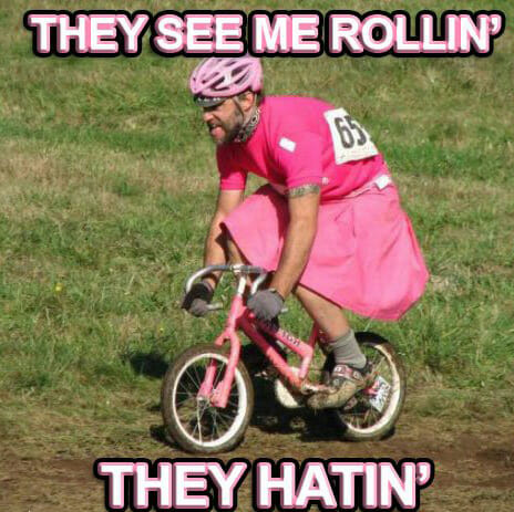 MTB MEME They see me rolling