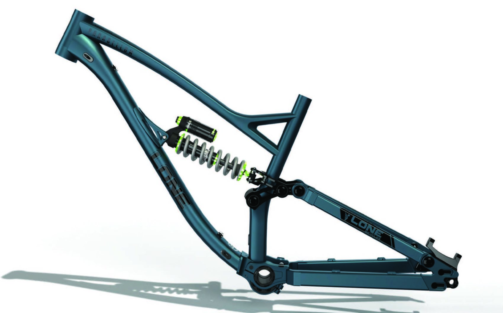 Lone Bicycles Announce New 2021 Parabellum Frame