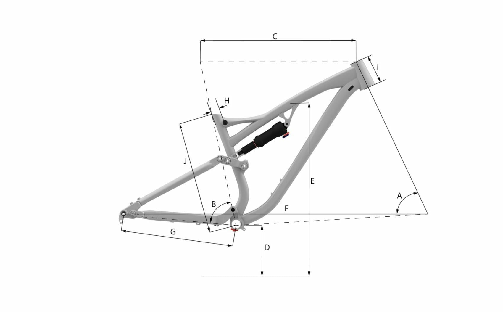 Whyte E-150 RS Geometry