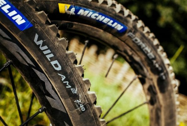 Michelin Wild Am2 and force am2 MTB Tyres