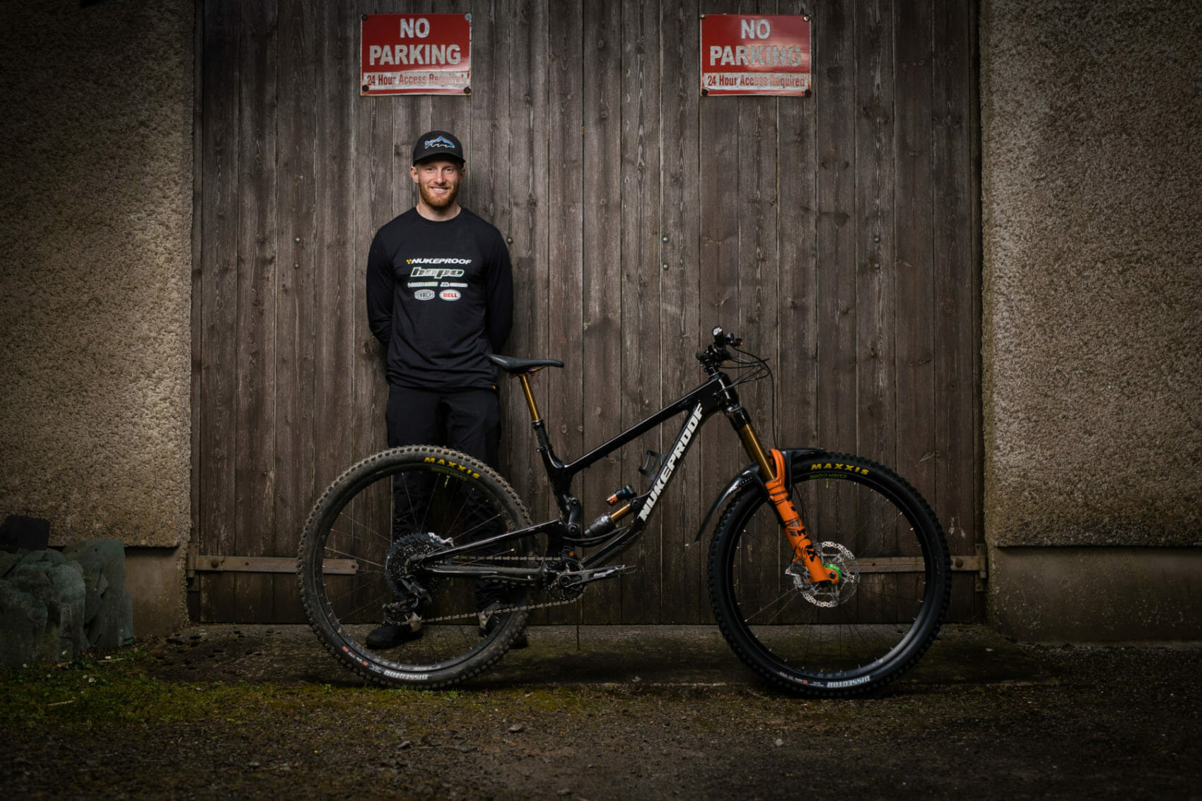 Adam Brayton Enhances Relationship with Nukeproof