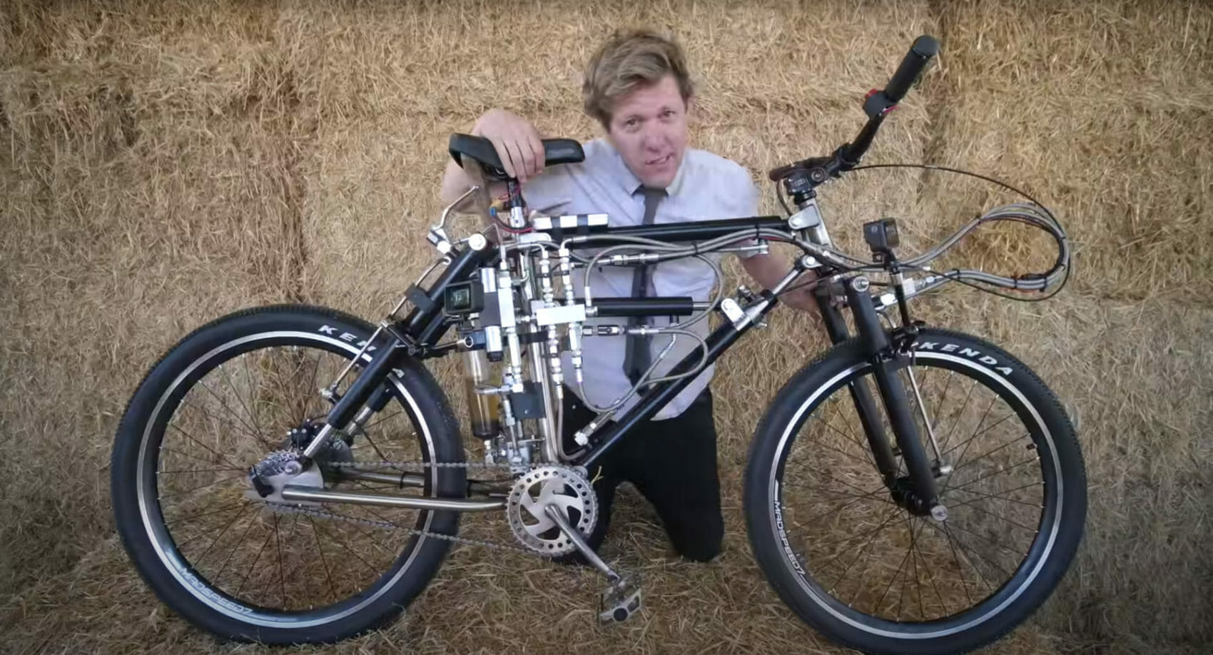 The Shape Shifter Bike From Colin Furze